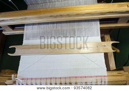 Tablecloth In Loom