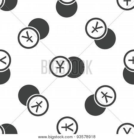 Yen coin pattern