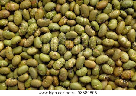 Roasted Salted Soy Nuts Background