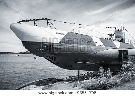 Historical Submarine Vesikko From Wwii Period
