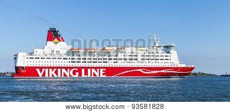 The Finnish Ferry Viking Line Ms Mariella