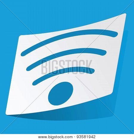 Wi-Fi sticker