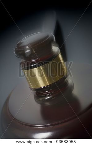 Legal law winning sale auction concept image