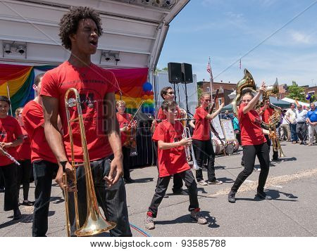 Rockland County Pride 2015 - Marching Band