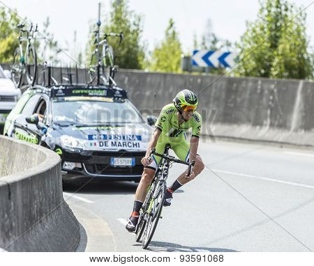 The Cyclist Alessandro De Marchi - Tour De France 2014