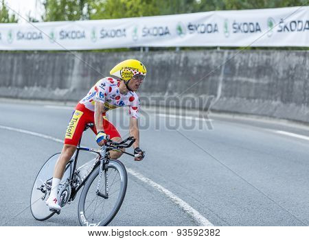 The Cyclist Rafal Majka - Tour De France 2014