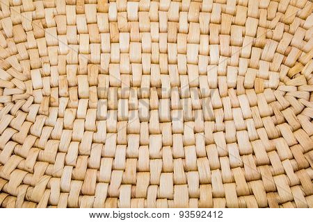Wicker Place Mat Background