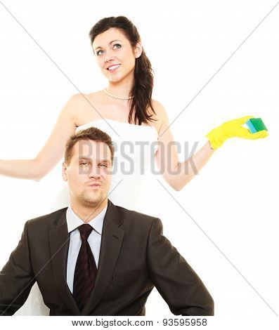 House Cleaning Duty In Marriage.