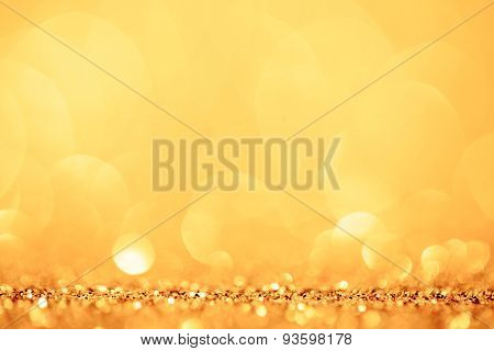golden and yellow circle background