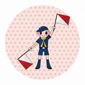 foto of boy scouts  - Scout Theme Elements - JPG