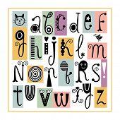 foto of cursive  - English Alphabet - JPG