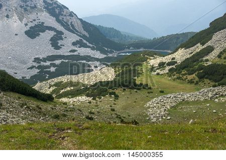Amazing View of  Sinanitsa lake,  Pirin Mountain, Bulgaria