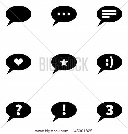 Vector Set Of Bubbles Icons With Different Concepts