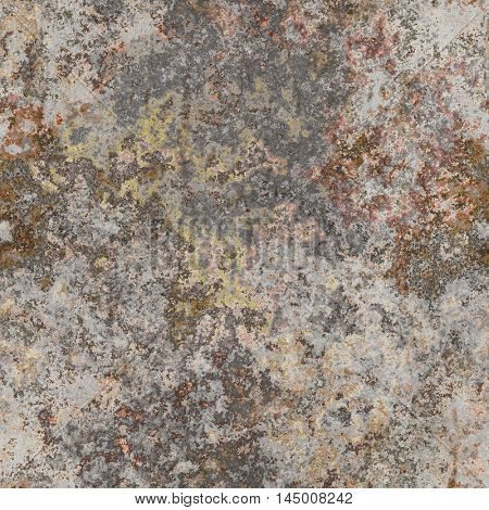 2d illustration of a seamless lichen background