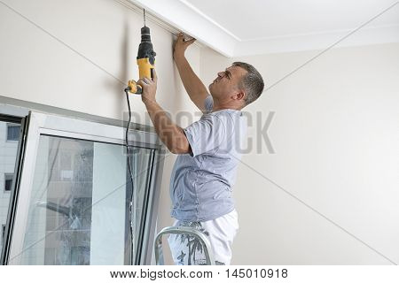Manual Worker Drilling