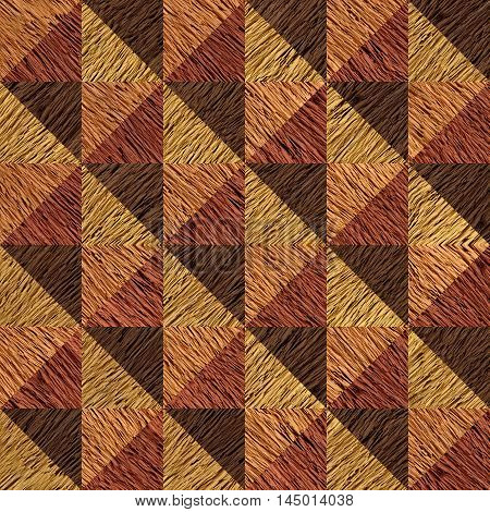 Decorative wooden pattern for seamless background - decorative wallpaper