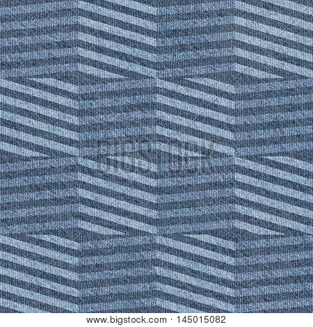 Abstract paneling pattern - seamless pattern - blue jeans textile