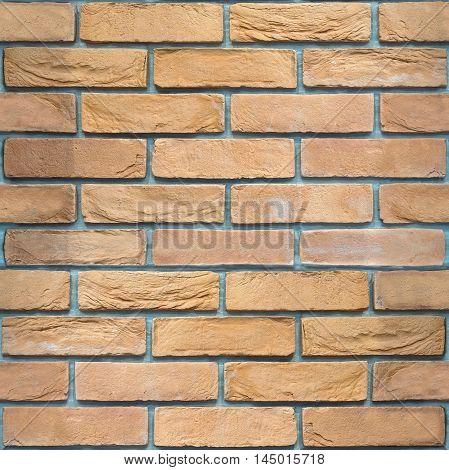 Decorative brick wall - seamless background - retaining wall