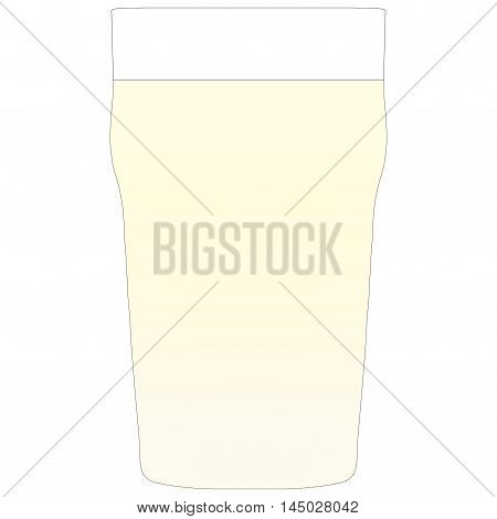 A Pint Of Lager Vintage