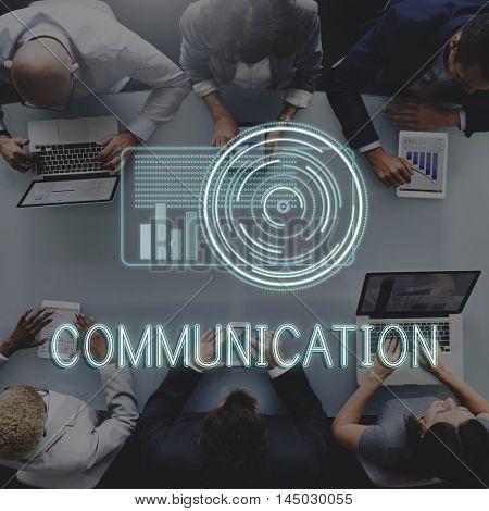 Development Multimedia Internet Go Digital Concept