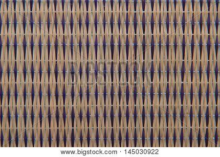 closeup design Handcraft pattern weave texture natural background