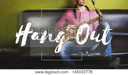 Hang Out Go Out Leisure Activity Enjoyment Concept