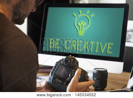 Career Photography Camera Work Concept