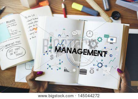 Management Controlling Business Corporate Concept