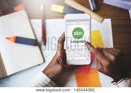 Translator Dictionary Language Interpreter Concept