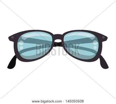 glasses eyewear accessory optical protection vision vector illustration