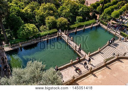 Cordoba or Cordova is a city of Andalusia southern Spain Alcazar de los Reyes Cristianos