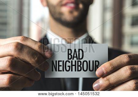 Bad Neighbour