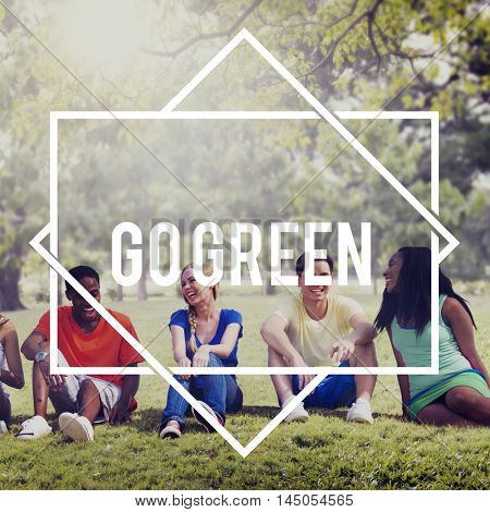 Go Green Conservation Ecology Environmental Concept