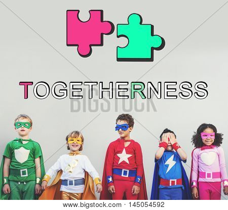 Team Alliance Association Cooperation Graphic Concept