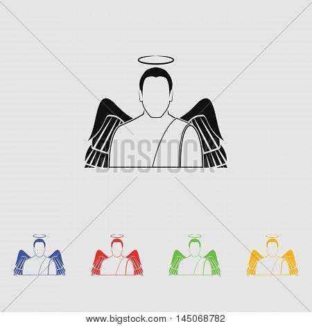 Angel  Vector Icon for web and mobile