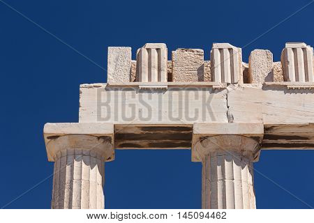 Detail Of The Parthenon