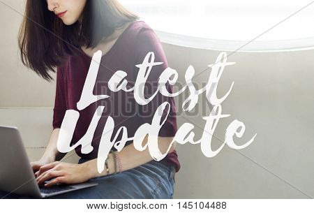 Latest Update Programming Software Upgrade Firmware Concept