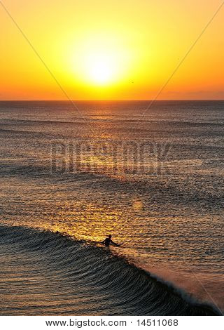 Dawn Surf Session