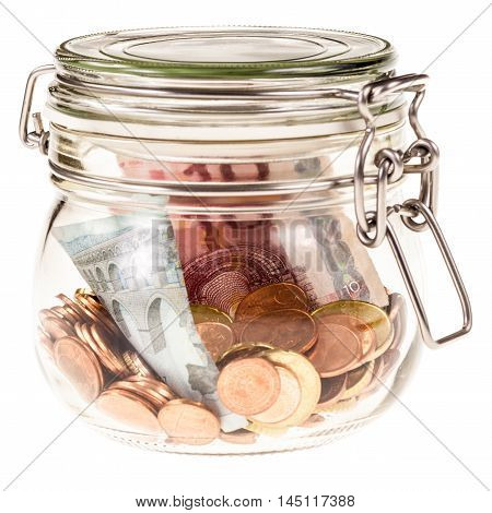 Jar With Euros