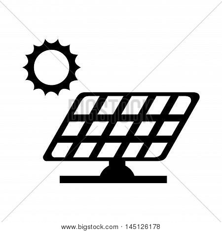panel solar sun energy vector illustration eps 10