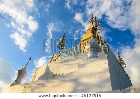 Phou Si- Hill Luang Prabang in Laos