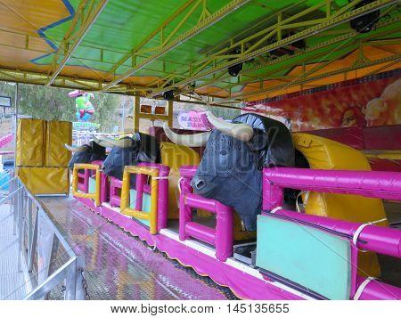 Colorfull Fairground Equipment