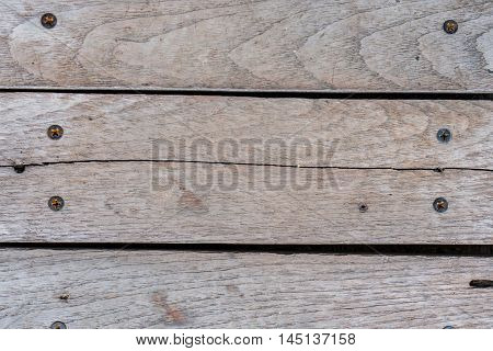 close up of old wood broad background, wood texture