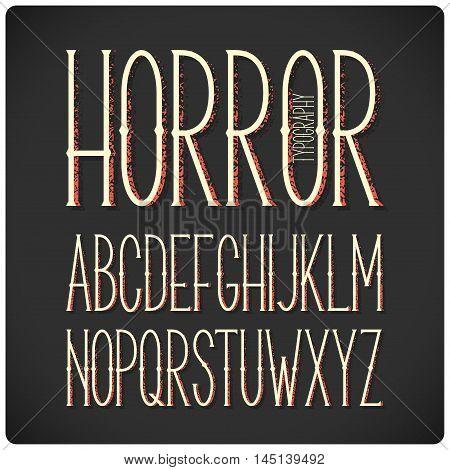 Narrow Font 01