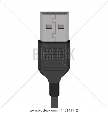 usb connected backup design vector illustration eps 10