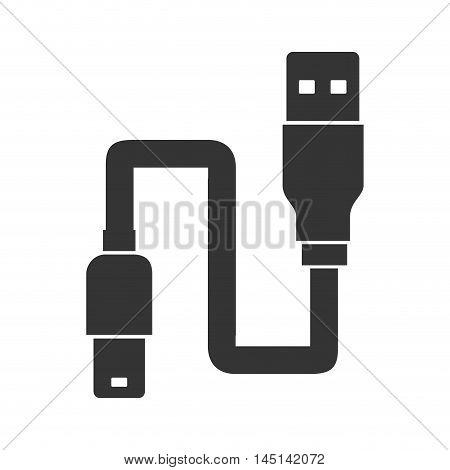 usb cable backup design vector illustration eps 10