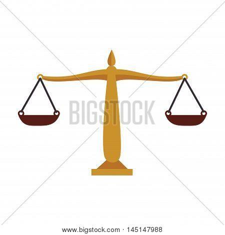 balance money equality isolated vector illustration eps 10