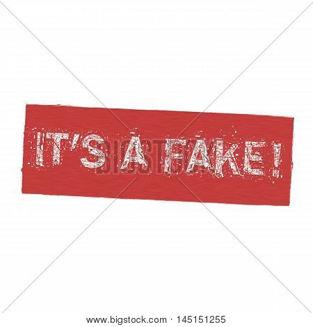 Its a fake white wording on Background red wood Board old