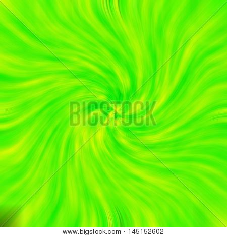 an images of Green-Yellow background light twirl effect