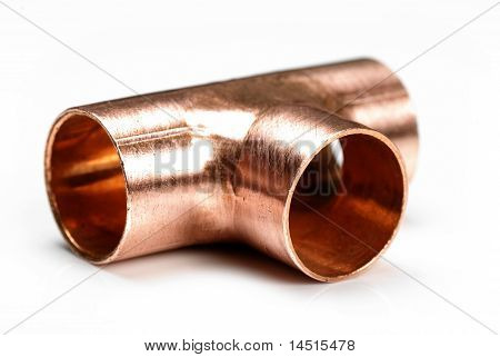 Equal 15Mm Copper Tee Fitting